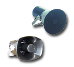 Explosion proof outdoor loudspeakers