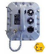 GAI-TRONICS Explosion proof intercom div 1 & 2